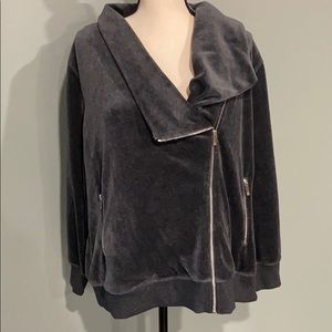 Velvety soft Vince Camuto zip up